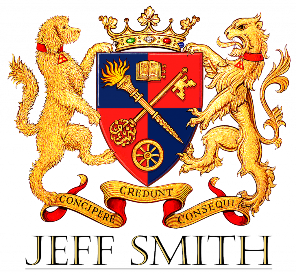 Jeff Smith logo the crest - The Marque of Success