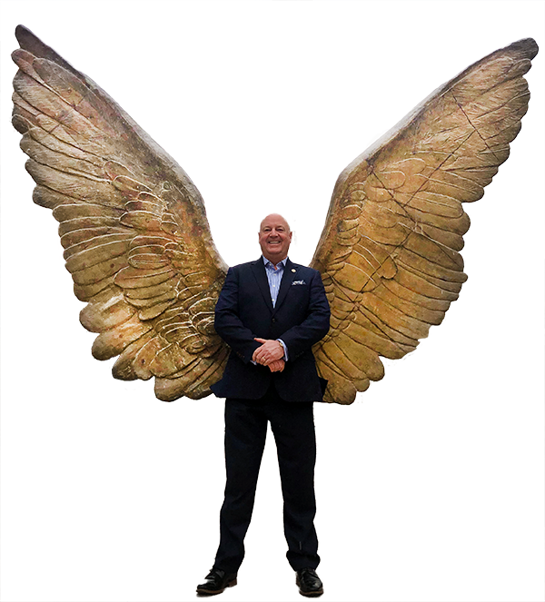 Angel Wings for Super Power of Jeff Smith