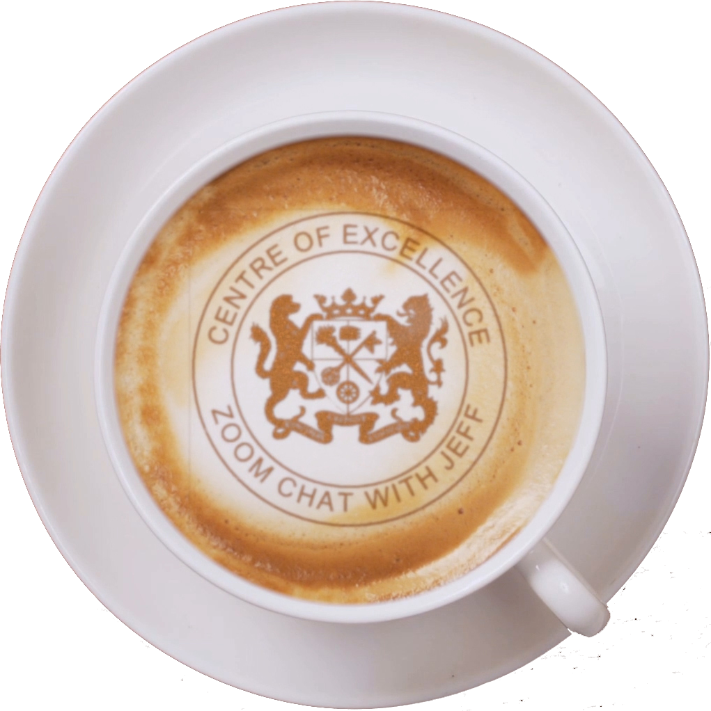 Buy A Coffee And Secure Your Seat<br>In The Centre of Excellence
