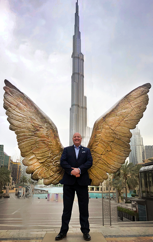 Angel wings for jeff smith super power hero